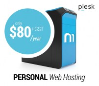 Personal Web Hosting on Plesk with Nexus One
